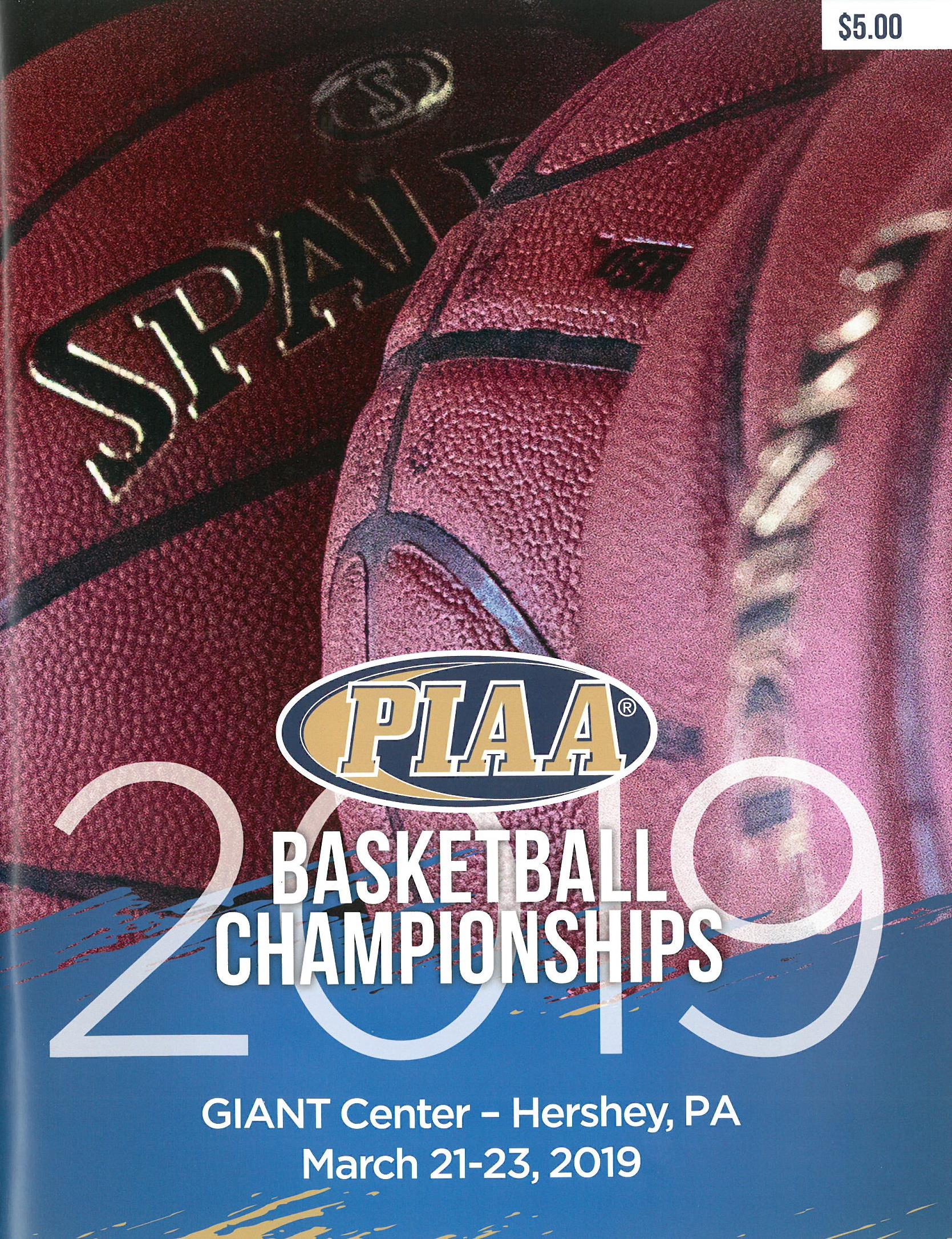 2018 Basketball Championship Program